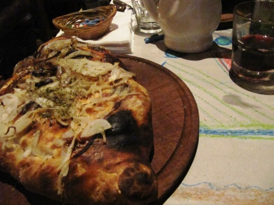 Calzone at Cumana