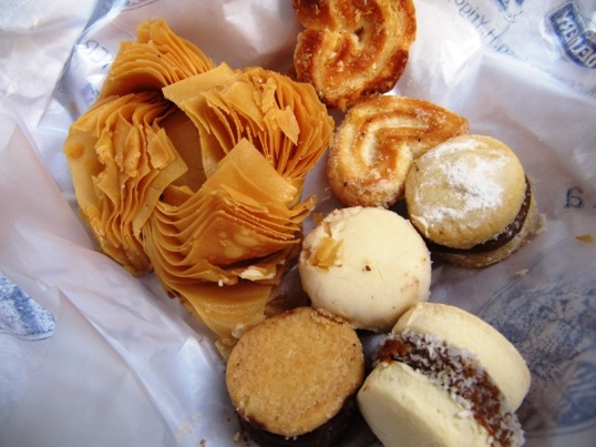 Alfajores and other pastries