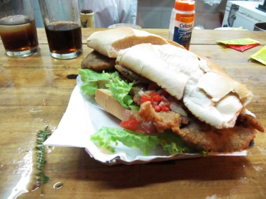 Sandwich Milanesa