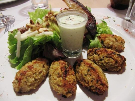 Artemesia #2 - Quinoa Fritters