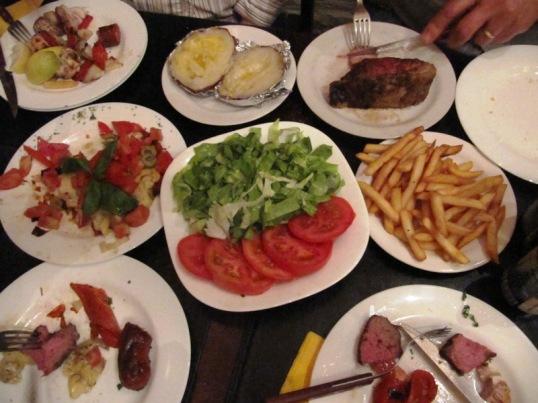 Dinner at La Otra
