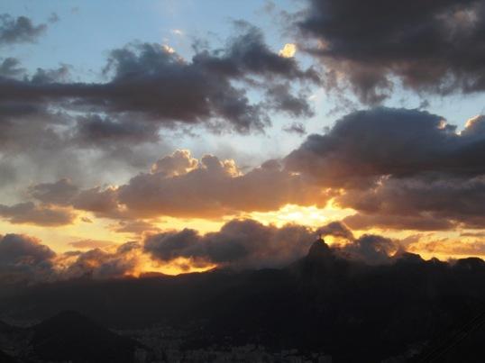 Sunset from Pão de Açucar