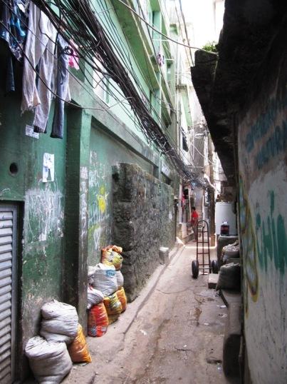 Favela Walkway