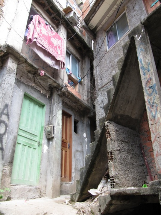 Favela stairs