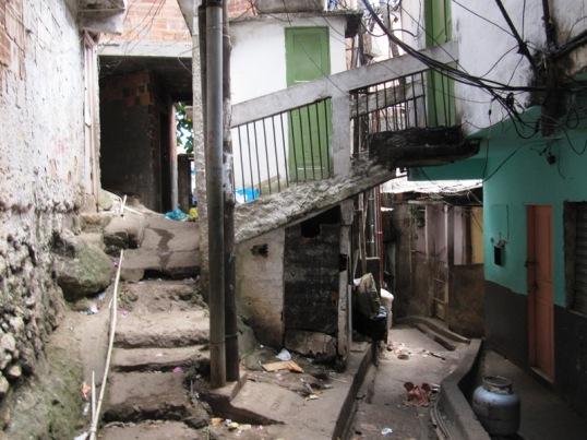Favela doorway