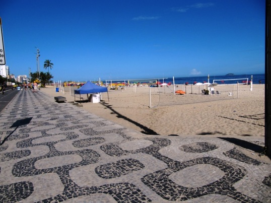 Sidewalk along Ipanema