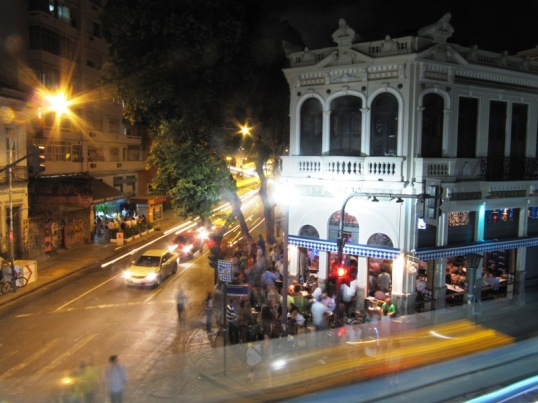 Samba club in Lapa