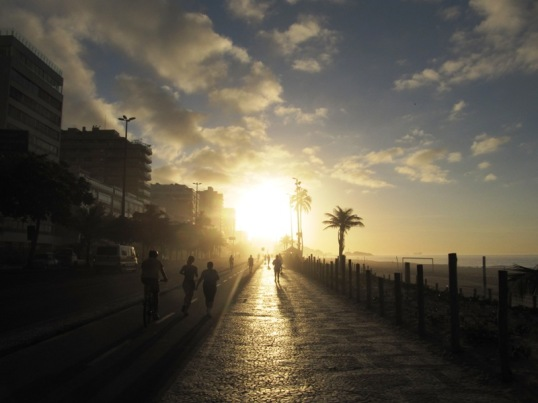 Ipanema sunrise