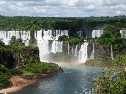 Foz do Iguaçu from Brazil