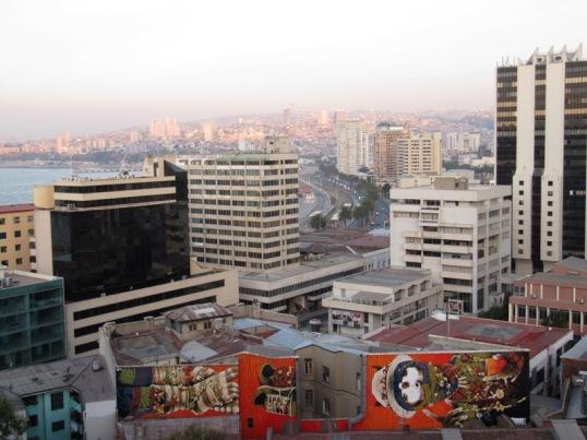 Valparaíso overlook