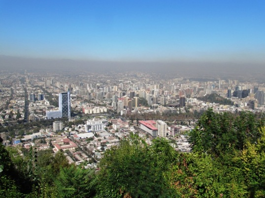 Santiago and its smog