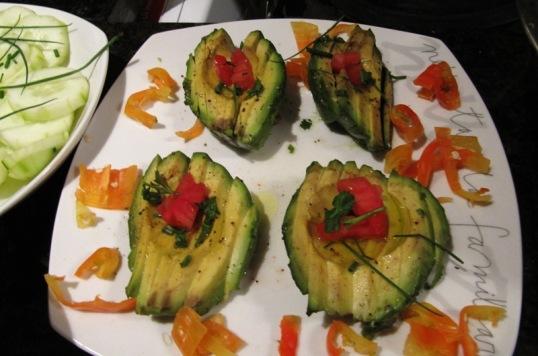 Chilean avocados