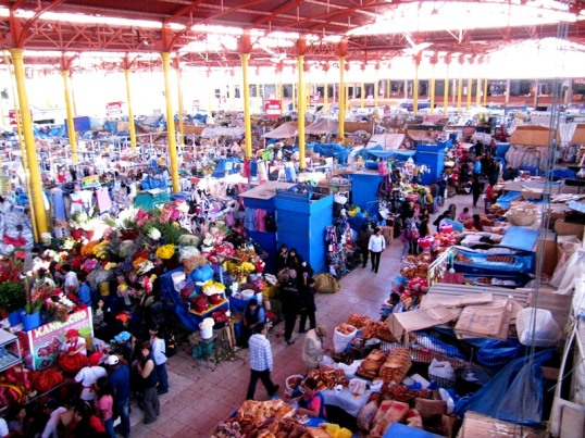 Central market in Arequipa