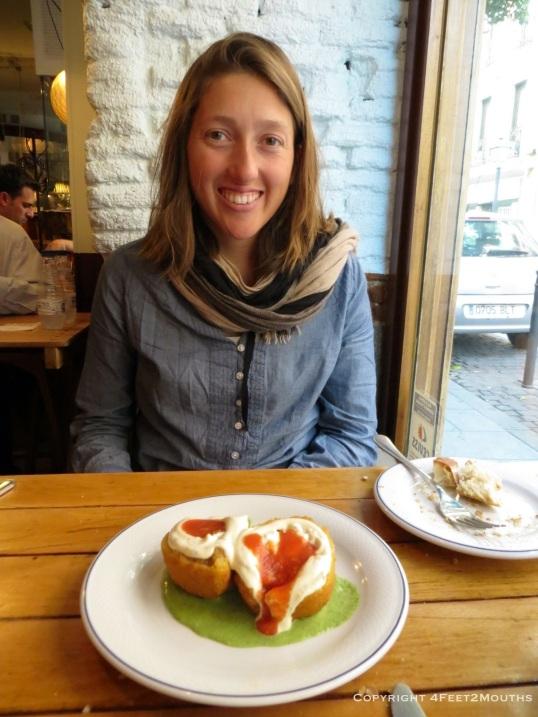 At the hip Madrid tapas bar, La Musa