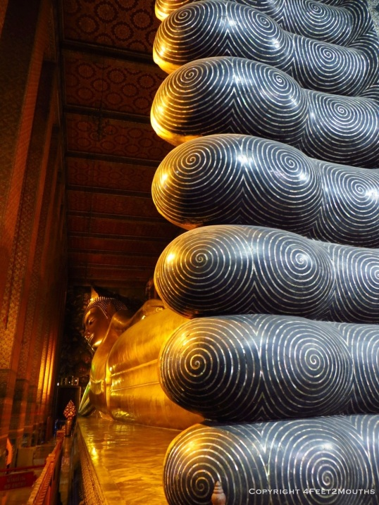 Buddha's toes