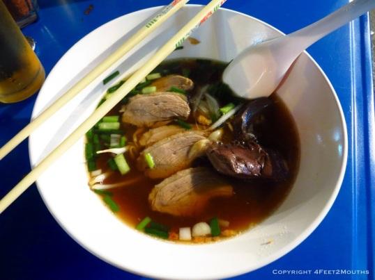 Duck noodles
