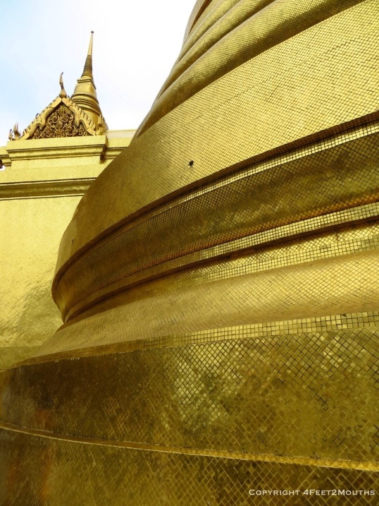 Wat Phra Kaew golden tiles