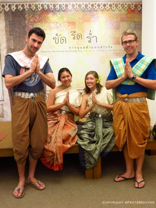 Traditional Thai costume session