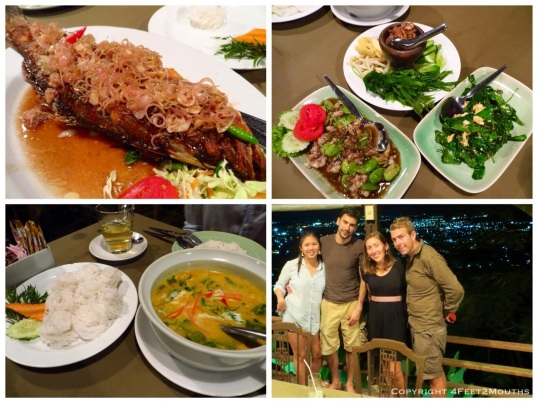 Feast at Khao Rung Tung Ka Cafe