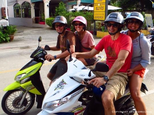 Scooty Booty Biker Gang