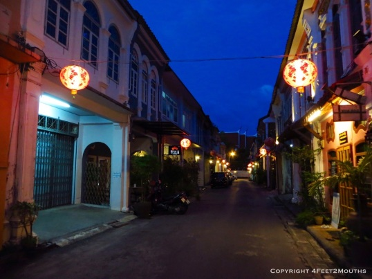 Lantern street in Phuket Town