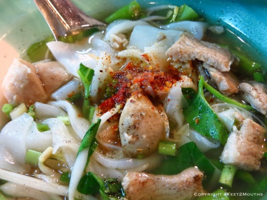 Delectable boat noodles