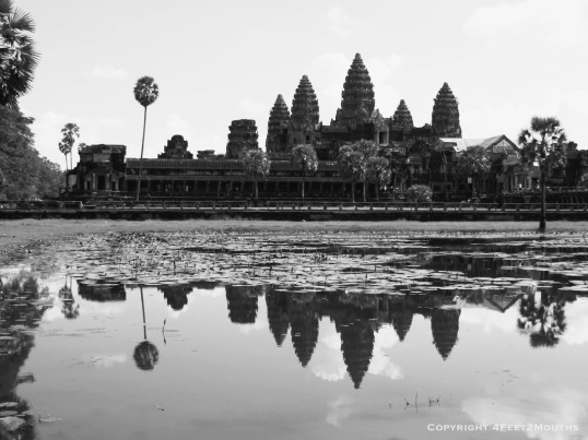 Angkor Wat from west