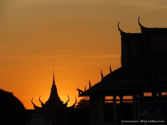 Sunset Phnom Penh