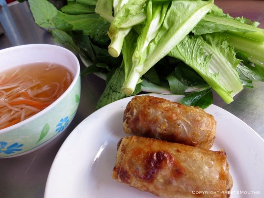 The perfect spring roll