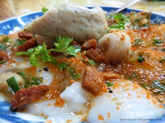 Banh beo hue breakfast