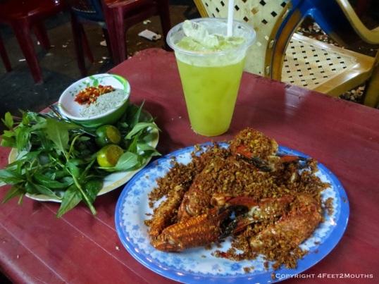 Spicy pepper crab