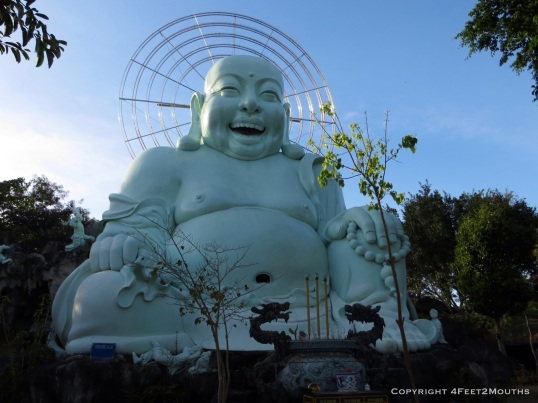 One big and happy Buddha