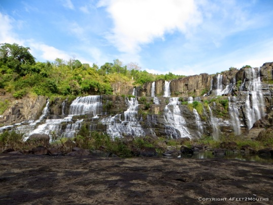 Pongour waterfalls from below