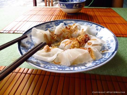 Banh bao vac (Hoi An's white rose)