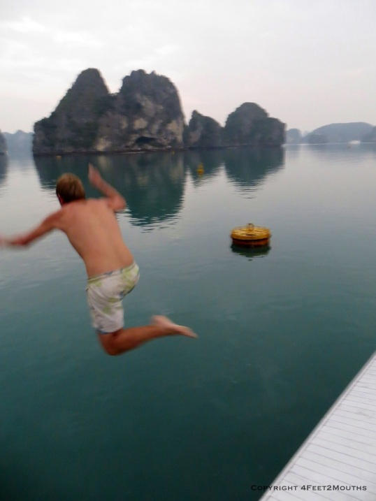 Nathan leaps into still waters