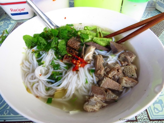 Street side noodle soup