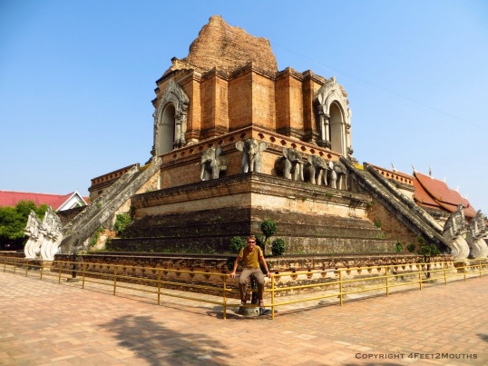 The namesake chedi