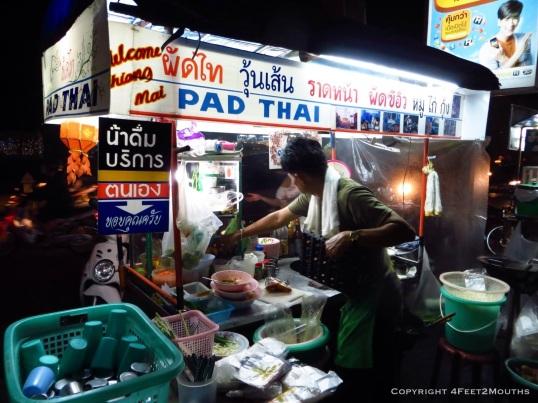 Pad thai stall