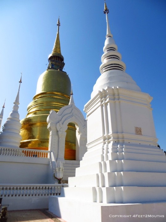 Close up chedi