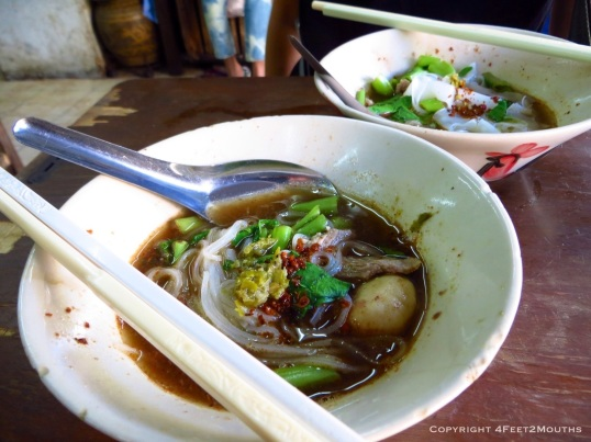 Boat noodle perfection