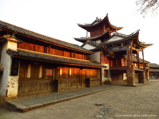 Shaxi historic theater
