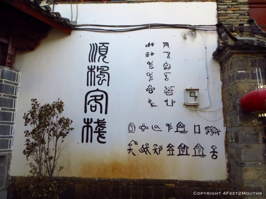 Naxi writing