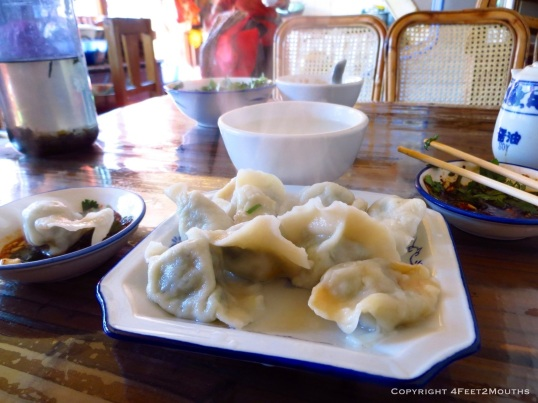Boiled Dumpling Aunty!