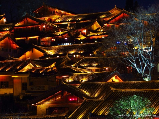 Lijiang by night