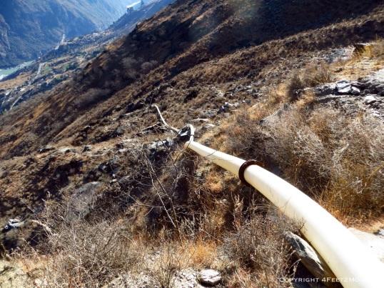Pipeline eyesore