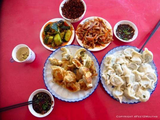 Amazing dumpling meal