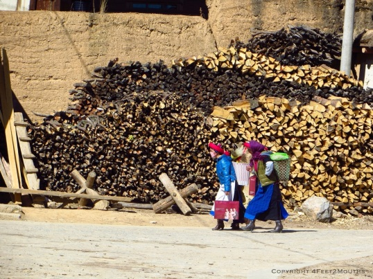Local villager women