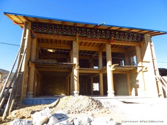 Tibetan style construction