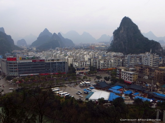 City and nature together in Guilin