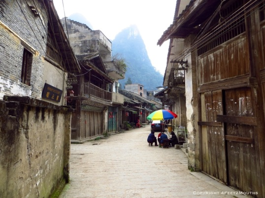 Old street in Xingping